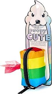 FYDELITY poopyCUTE Rainbow Stripe Dispenser