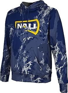 Northern Arizona University Men's Pullover Hoodie, School Spirit Sweatshirt (Marble)