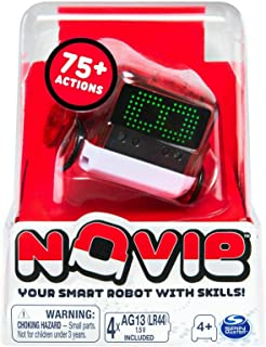 Novie, Interactive Smart Robot with Over 75 Actions and Learns 12 Tricks (Purple), for Kids Aged 4 and Up