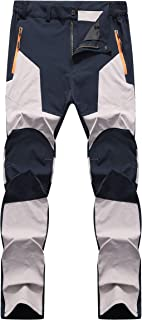 fanhang Outdoor Lightweight Waterproof Hiking Mountain Pants for Men Women