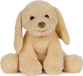 GUND Animated My Pet Puddles Puppy Plush Stuffed Animal Dog لعبة الصوت والحركة ، أصفر ، 12