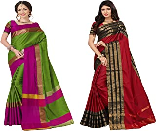 Amazon in: ₹500 - ₹750 - Silk Sarees: Clothing & Accessories