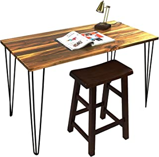 """Signstek 28"""" Hairpin Table Legs with Heavy Duty Metal and Industrial Design for Coffee Tables, Modern Desks and Night Stands,Set of 4"""