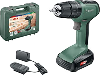 Bosch 06039C8170 Cordless Hammer Drill UniversalImpact 18 (1 Battery, 18 Volt System, in Carrying Case)