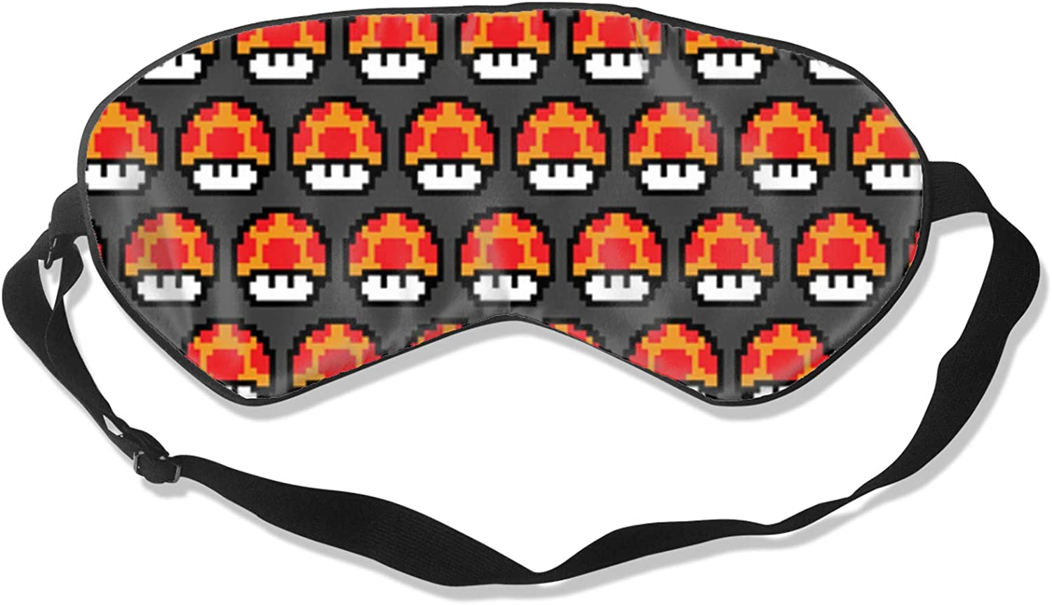 New sales Mario Sleeping Eye Mask Popular product Breathable Soft Comfortable and Silky