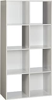 OneSpace 8-Cube Organizer, White