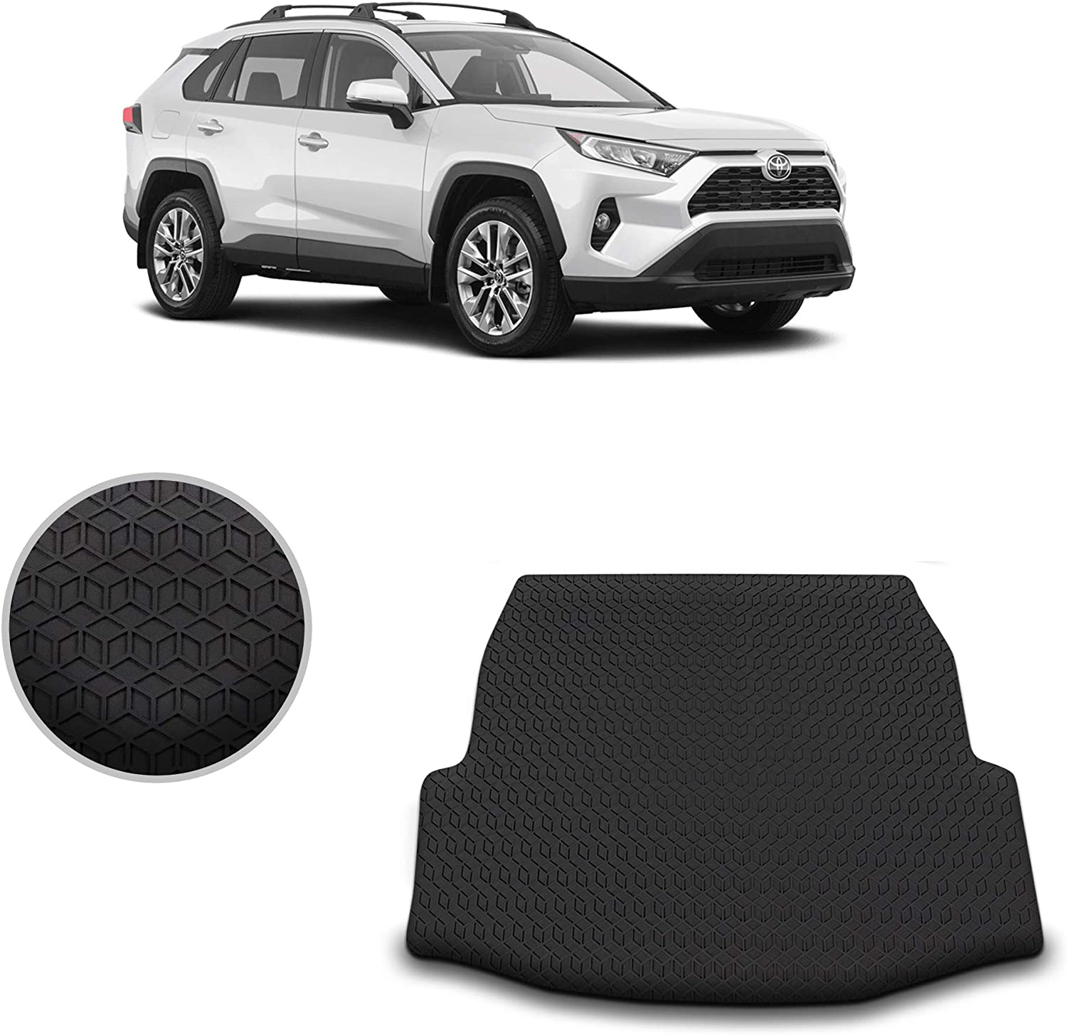 ForAllMat All Weather Cargo Liner Many popular brands Attention brand Floor Black 2019 for + Toy Mat