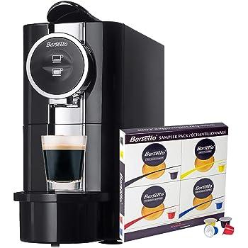 Barsetto - Máquina espresso con 20 cápsulas