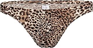Men's Sexy Fashion Underwear Leopard Print Bikini Swimwear Panties