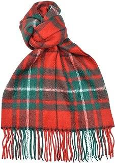 Lambswool Scottish Macaulay Modern Tartan Clan Scarf Gift