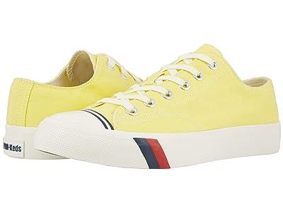 Pro-Keds Royal Lo Canvas (Yellow Cream) Men