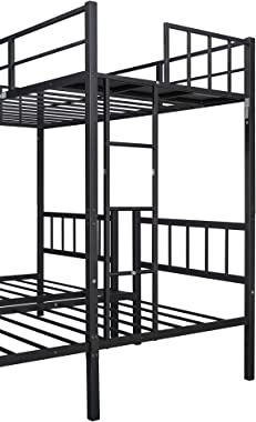 Triple Twin bunk Bed, can be Separated into 3 Twin beds