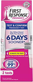 First Response Early Result Pregnancy Test & Confirm Pack, 1 Regular + 1 Digital, 2 Tests