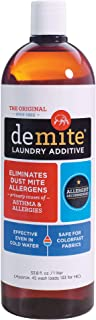 DeMite Laundry Additive Allergen Eliminator * * Eco-Friendly (Fragrance Free, Expiration Free, Toxin Free) * * Safely Remo...