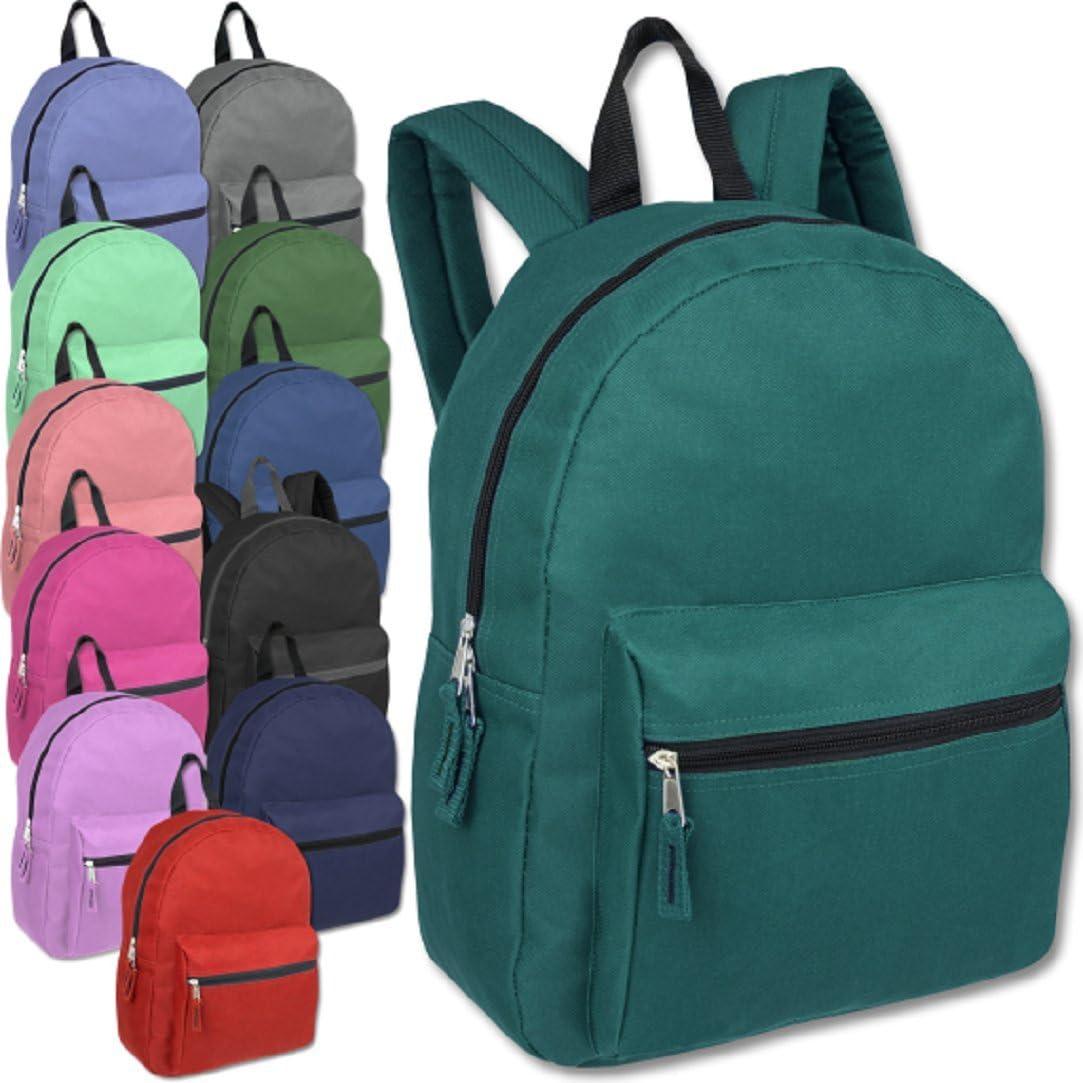 Classic 15 Inch Backpacks Bulk Wholesale Pack 海外輸入 人気商品 t Lot Case Back 24