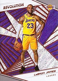 3e85cfbc11a8 2018-19 Panini Revolution  40 LeBron James Los Angeles Lakers Basketball  Card