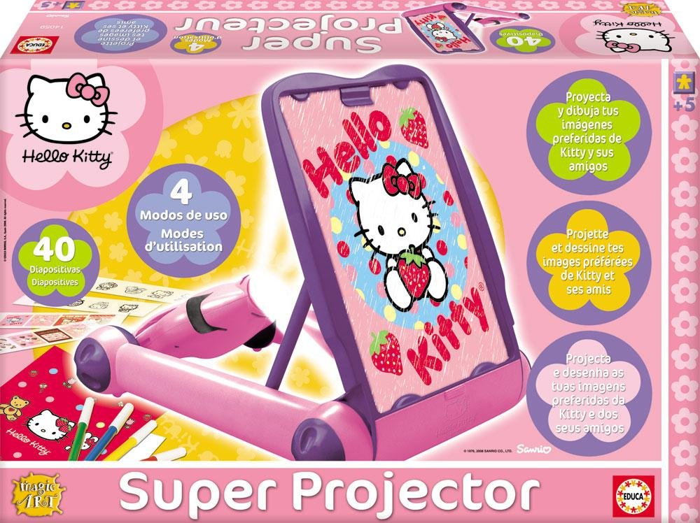 Educa Borrás 14059 - Super Proyector Hello Kitty: Amazon.es ...