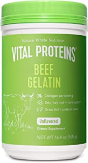 Sponsored Ad - Vital Proteins Beef Gelatin : Pasture-Raised, Grass-Fed, Non-GMO (16.4 oz) - Gluten free, Dairy free, Sugar...