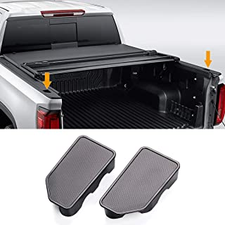 Moonlinks Bed Rail Stake Pocket Cover for 2014-2018 GMC Sierra 1500 and Chevrolet Silverado 1500/2500/2500HD/3500(Set of 2)