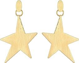 Rebecca Minkoff - Star Girl Drama Earrings