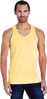 2517bd92cdc289 Hanes Mens ComfortWash Garment Dyed Sleeveless Tank Top (GDH300 GRTDYE)