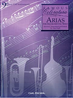 WF25 - Famous Coloratura Arias for Bass Clef Instruments