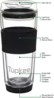 coffee glass travel mug