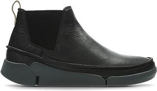 Clarks Women's Tri Poppy Black Leather Boots