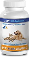 Dog Eye Support - Ultra Vitamins for Pets - Dogs and Cats - Powerful Minerals - Vitamin d for Dogs - 1 Bottle (120 Chews)