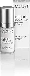 Skinius - FOSPID Siero Attivo Viso, Rigenerante e Antiage, a Base di Fospidina, 30 ml