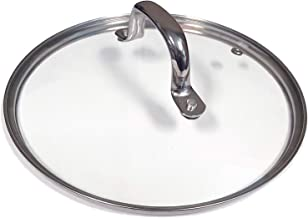 "ExcelSteel 89 Fits Most Pressure Cookers & Instant Pot, Accessory Tempered Glass Lid, 9"", Vented"