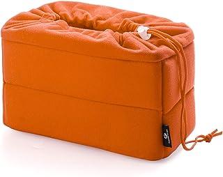 Koolertron 一眼レフ対応 インナーカメラバッグ「そのままバッグに入れられる」自由に調節可能な間仕切り付きでしっかり収納&ホコリをガード インナーバッグ/インナーケース