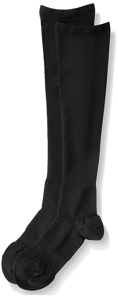 メアリアンジョーンズ歯出来事医学博士の考えた着圧靴下ブラックM