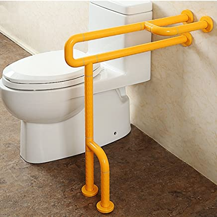 Barandilla ZCJB Seguridad En El Baño Pasamanos Accesibilidad Manija para Inodoro Antideslizante Inodoro Personas Discapacitadas (
