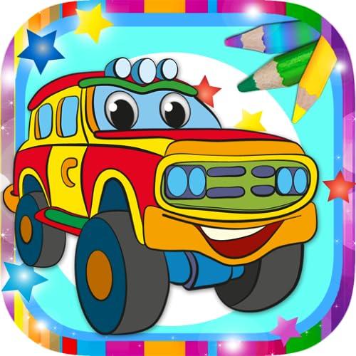 Mal Autos und Wagen magisch