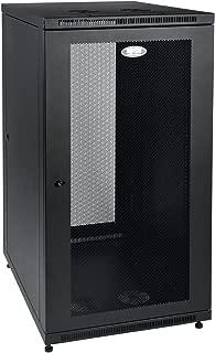 Tripp Lite 24U Rack Enclosure Server Cabinet, Mid Depth, 32.5