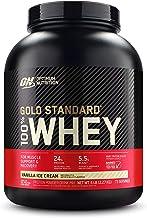 Optimum Nutrition ON Gold Standard Whey proteïnepoeder, eiwitpoeder voor spieropbouw, natuurlijk opgenomen BCAA en glutami...