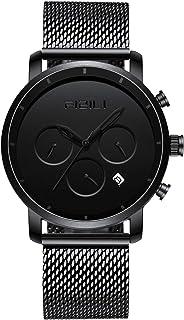 Men Watches Chrono Minimalist | 10 Series 42 MM Wrsit Watch for Men | Analog & Date Display