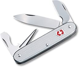 Victorinox Swiss Army Electrician Pocket Knife (Silver Alox Ribbed),Silver Alox, Ribbed