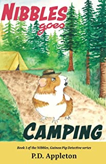 Nibbles Goes Camping (Nibbles, Guinea Pig Detective)