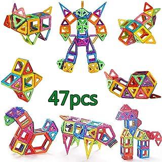 مجموعة قطع البناء، العاب البناء، العاب البناء للاطفال، قراميد البناء للاولاد، للاطفال، للصغار، للاولاد والبنات، 47 قطعة