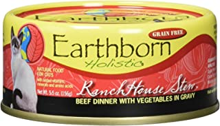 Earthborn Holistic RanchHouse Stew Grain Free Canned Cat Food, 5.5 oz, Case of 24