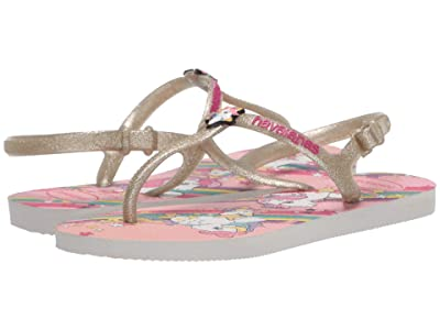 Havaianas Kids Freedom SL My Little Pony Flip-Flop (Toddler/Little Kid/Big Kid) (White) Girls Shoes