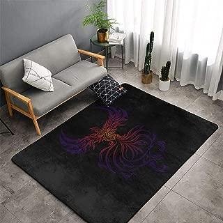 Indoor Modern Soft Floor Area Rugs Fluffy Machine Washable Carpets 60