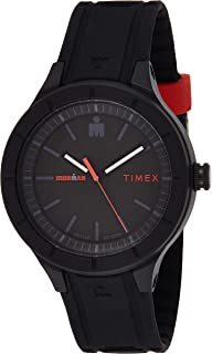Timex Men's Digital Watch, Analog Display and Silicone Strap TW5M16800