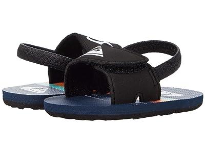 Quiksilver Kids Molokai Layback (Infant/Toddler) (Blue/Blue/Blue) Boys Shoes