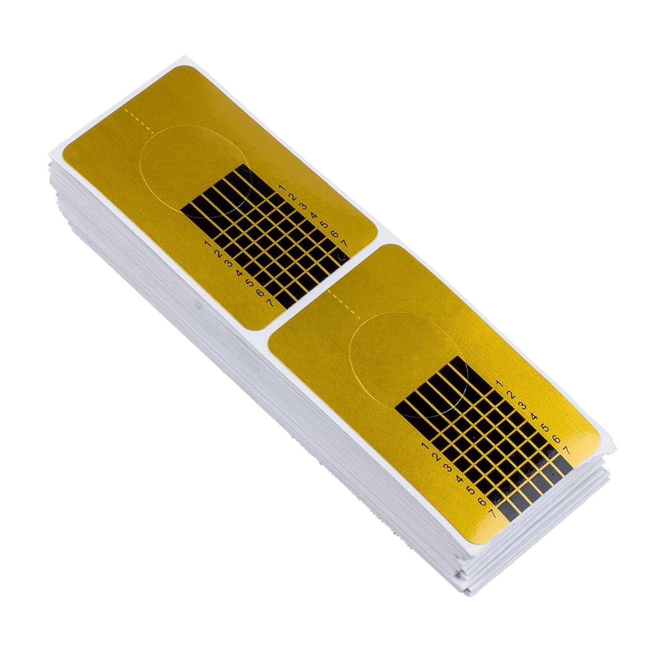 請求可能付添人砂のTOOGOO 100x ゴールデンのネイルのカバー、DIYツール