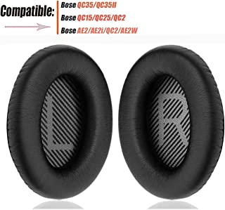 Bose Headphones Ear Pads Replacement Comfortable Noise Isolation Compatible for Bose QC35,QuietComfort 35II,QC25,QC15,QC2,...