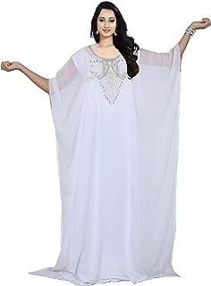 KoC Women wear Kaftan Farasha Kimono Long Maxi Dress Summer top Tunic Free Size