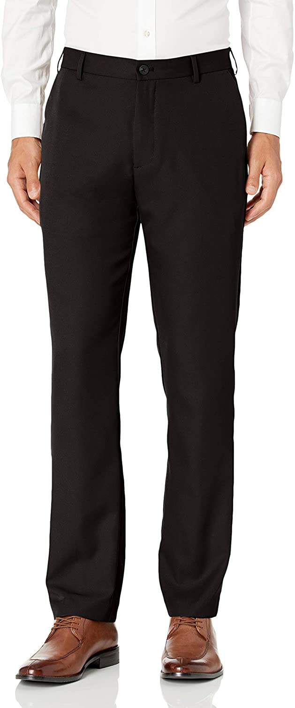 Van Heusen Men's Flat Albuquerque Mall Front Dress Inexpensive Straight Pant Fit